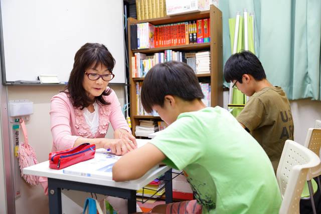 【写真】個別学習コースの様子